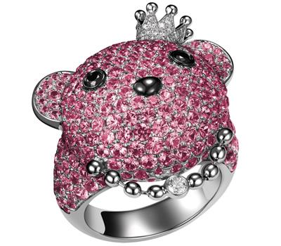 Bague Pinky BoBo - Qeelin chez Colette