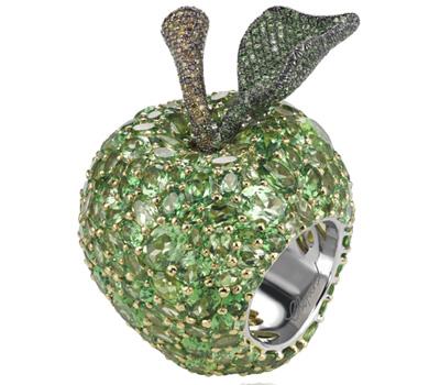 Bague Pomme Red Carpet 2012 - Chopard Joaillerie
