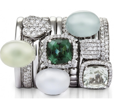 Bagues Or Blanc - One More Joaillerie