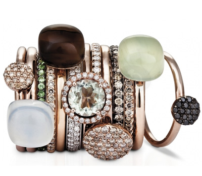 Bagues Or Rose - One More Joaillerie