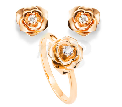 Bijoux Boutons de Rose - Piaget Joaillerie 2012
