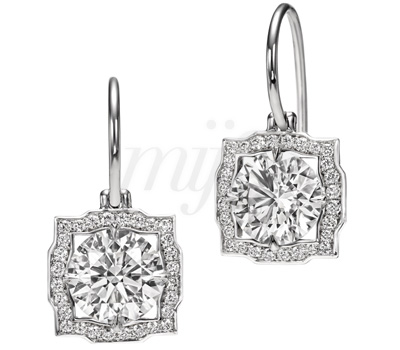 Boucles d'Oreilles Diamants Belle - Harry Winston