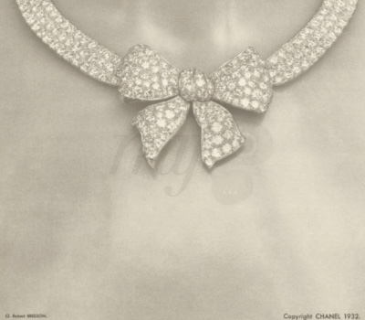 Collier Noeud Bijoux de Diamants - Chanel 1932