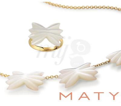 Collier De Pâtes et Bague Farfalle - Maty