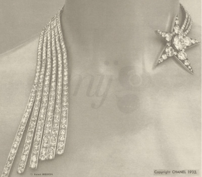 Collier Bijoux de Diamants - Chanel 1932