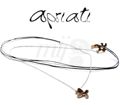 Collier Moving Butterfly - Apriati