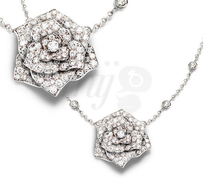 Collier Rose Piaget Joaillerie 2012