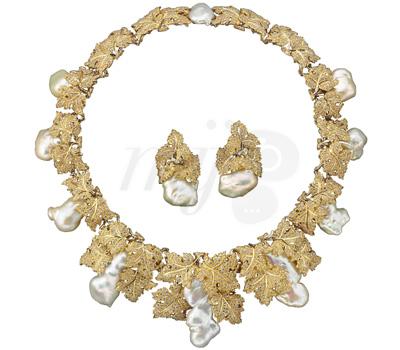 Parure Perles Baroques - Buccellati 2012