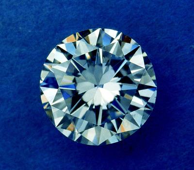 Pierre précieuse - diamant blanc incolore