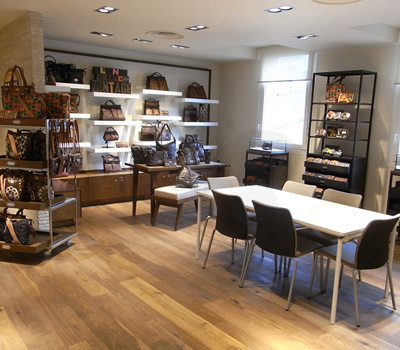 Showroom Fossil Paris France