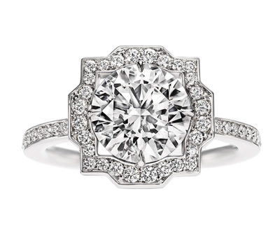 Solitaire Diamant Belle - Harry Winston Bridal