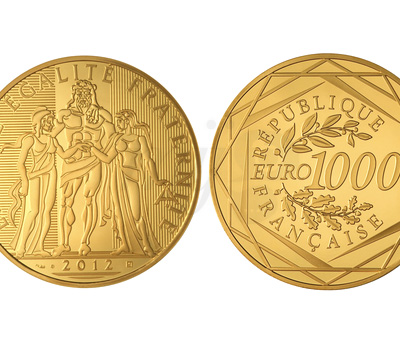 1000 euros Hercule Or Massif - Monnaie de Paris
