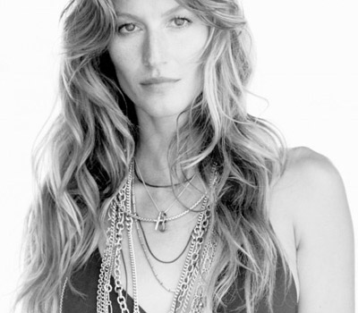 Gisele Bundchen pour les Bijoux David Yurman