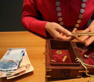 Rachat d'or contre de l'argent