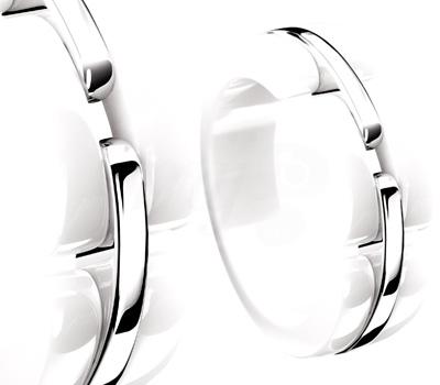 Bague Chanel Ultra 2012 - Céramique Blanche Or Blanc