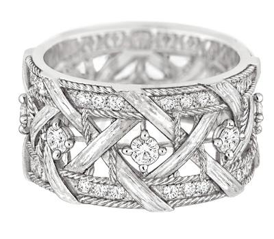 Bague Or Blanc Diamants My Dior - Dior Joaillerie