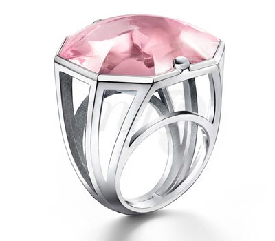 Bague L'Illustre Rose - Baccarat