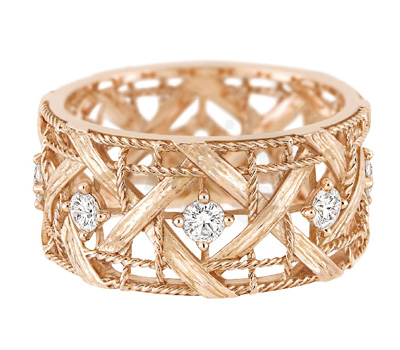 Bague Or Rose Diamants My Dior - Dior Joaillerie