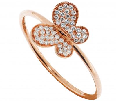 Bague Papillon avec diamants de Morganne Bello