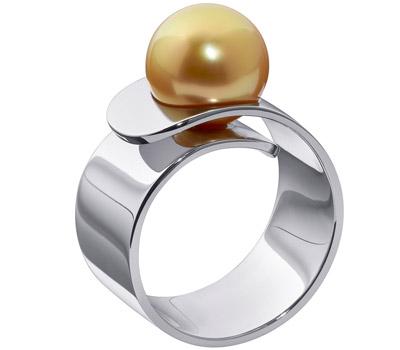 Bague perle gold Vertige de Dinh Van
