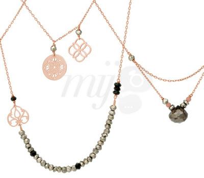 Bijoux Perle de Lune - Or Rose 9 carats
