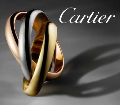 Bijoux Trinity de Cartier modèle bague