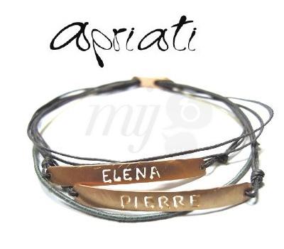 Bracelet 7 Cords Prénom - Apriati