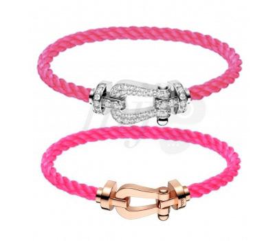 Bracelet Force 10 Rose Fluo - Fred Joaillerie