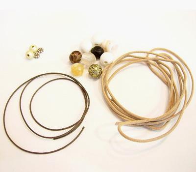 Kit de fabrication pour bracelet Shamballa