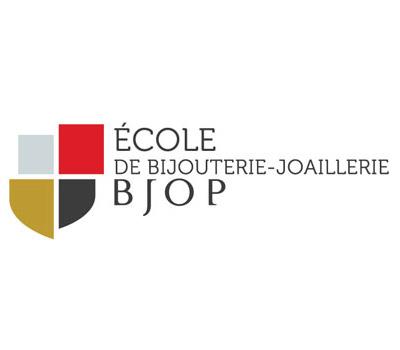Logo de l'école de bijouterie joaillerie BJOP
