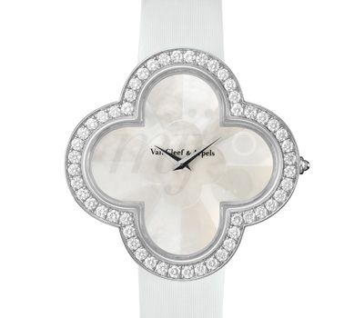 Montre Alhambra Talisman Nacre Diamants - Van Cleef & Arpels
