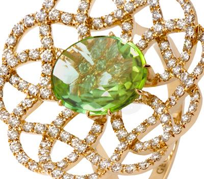 Pavage Diamants Rosace Pétillante - Georland