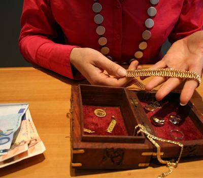 Rachat d'or et d'argent en bijoux