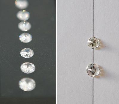 Astuce pour reconnaître un vrai diamant d'un faux