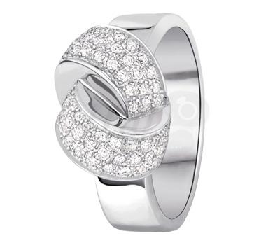 Bague Alix Diamants Or Blanc - Dinh Van