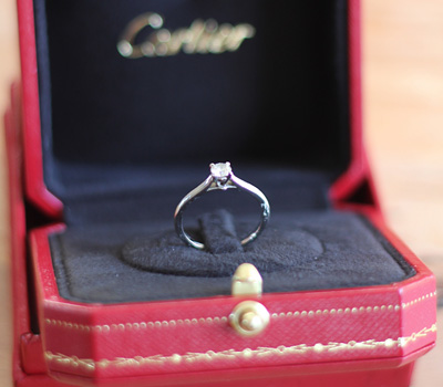 engagement ring settings bague de fiancaille cartier avis. Black Bedroom Furniture Sets. Home Design Ideas
