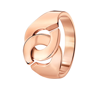 Bague Menotte en or rose de Dinh Van