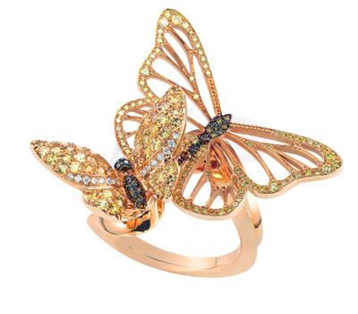 Bague Papillons - Chopard Joaillerie