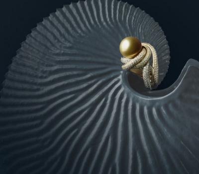 Bague Trinity Perles - Cartier