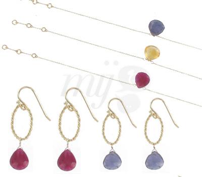 Bijoux Or 9 Carats Colorés - Lila Conti