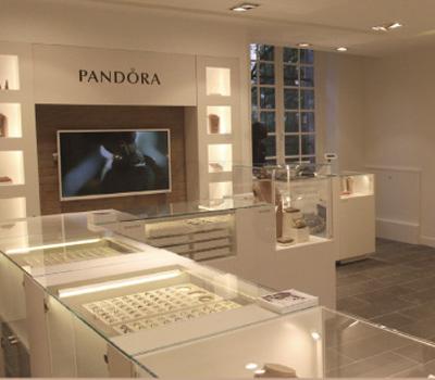 Boutique Pandora France 2012