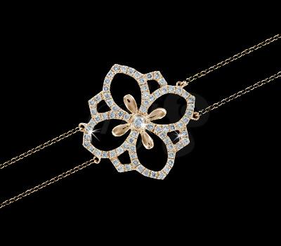 Bracelet Fleur de Lys - Maayane Joaillerie