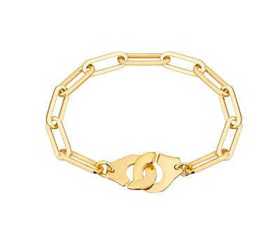 Bracelet Menottes en or jaune de Dinh Van