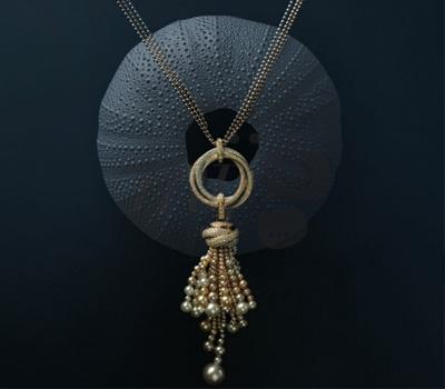 Collier Trinity Perles - Cartier Joaillerie