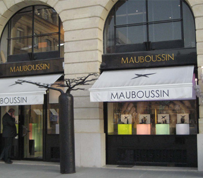 Ouverture d'une boutique Mauboussin à Alger