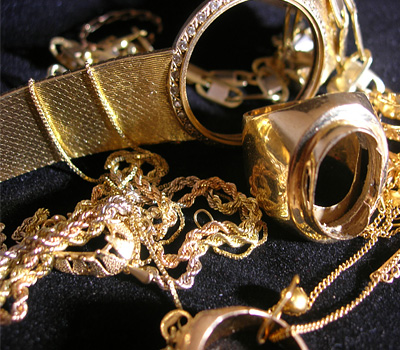Rachat d'or à la casse en 18 carats