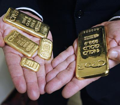 Achat de lingots d'or