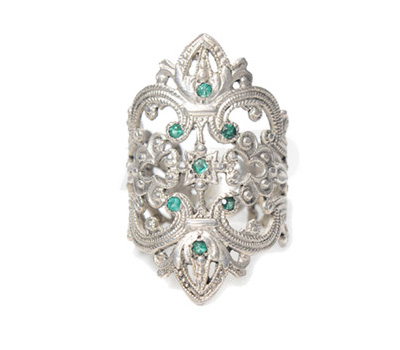 Bague Les Marquises Émeraudes - Schade Jewellery