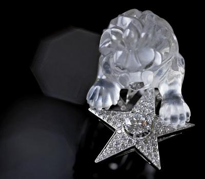 Bague Lion Cristal de Roche - Chanel Joaillerie 1932