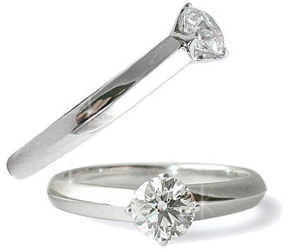 Bague Mathon solitaire avec diamant